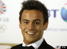 Tom Daley arriving at the BT British Olympic Ball at the Grosvenor House Hotel, London.