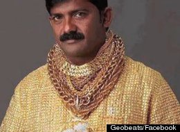 Datta Phuge spent $25,000 for a solid gold shirt that he believes will help him attract women.