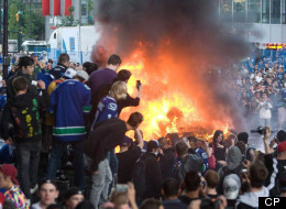 Vancouver police have honoured civilians who played a role in fending off rioters after the 2011 Stanley Cup final. (Canadian Press)