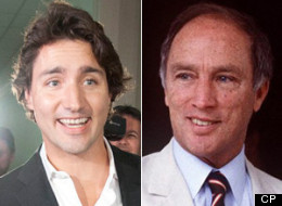 The Liberal ideology espoused by the likes of Justin and Pierre Trudeau remains dominant in Canada, a new poll from EKOS Research and iPolitics suggests. (CP)