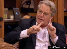 Jerry Springer acknowledged that he's the
