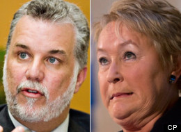 Philippe Couillard, a former health minister who took a break from politics in 2008, has the strongest numbers of the three candidates running for the leadership of the Quebec Liberals, making him a favourite to challenge Premier Pauline Marois. (CP)
