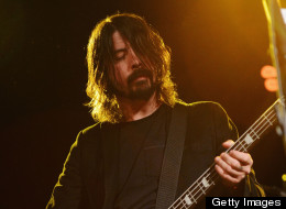 Dave Grohl performed at Sundance.