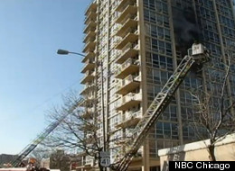 A total of 190 firefighters responded to the scene of a fire at a South Shore high-rise apartment building Tuesday morning in Chicago. Two were killed in the blaze.