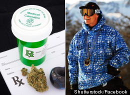 Ross Rebagliati, Olympic gold medallist, has unveiled plans to open a medical marijuana dispensary called Ross' Gold. (Shutterstock/Facebook)