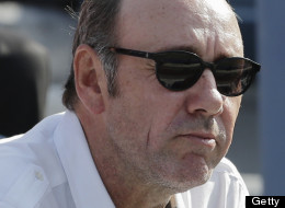 Kevin Spacey's new hair is dramatically different than from his appearance four months ago, at the US Open.
