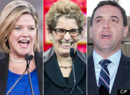 Ontario's minority Liberal government will be keeping a close eye on how the New Democrats react to today's provincial budget. (CP)