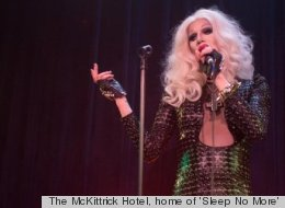 The McKittrick Hotel, home of 'Sleep No More'