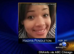 Hadiya Pendleton, a high school sophomore in Chicago, was fatally shot Tuesday. Her death has attracted national headlines amid the debate over gun control.