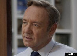 Francis Underwood (played by Kevin Spacey) has arrived. (Netflix)