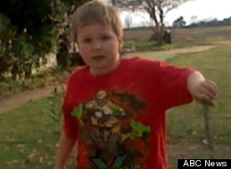 The boy kidnapped from his school bus and held in an underground for almost a week is