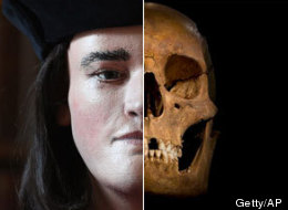 The skull of a 15th-century British king that was found under a parking lot in Leicester, England, has been used to reconstruct the monarch's face, via a technique that can help identify the victims of cold cases. (AP/Getty)