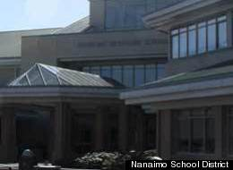 Nanaimo's Dover Bay Secondary School is among the facilities in lockdown after an alleged threat by a school board employee. (Nanaimo-Ladysmith School District)