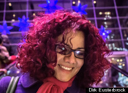 Egyptian-American journalist and activist Mona Eltahawy.