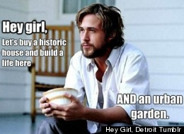 Ryan Gosling has become a Detroit internet meme, thanks to the imagination behind a new blog,