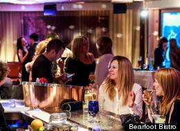 B.C.'s most romantic places include the champagne lounge at the Bearfoot Bistro. (Bearfoot Bistro)