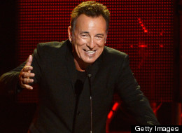 Bruce Springsteen was honored at the event.