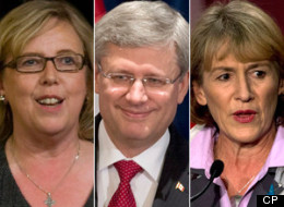 oyce Murray's bid to lead the federal Liberals is winning praise from an unusual quarter: Green party Leader Elizabeth May. (CP)
