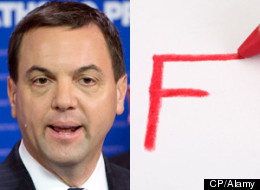 Ontario Progressive Conservative Leader Tim Hudak thinks student loans should be tied to grades. (CP/Alamy)