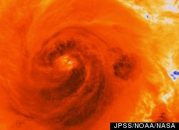 The VIIRS sensor on the NOAA/NASA Suomi NPP satellite passed over the central eye of Hurricane Sandy on Oct. 25, 2012. Without the satellite data, NOAA's weather forecasts would become less reliable.