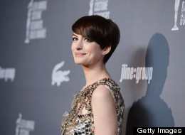 Anne Hathaway honored by Costume Designers Guild.